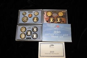 2010 14 Coin United States Mint Deep Mirror Proof Set