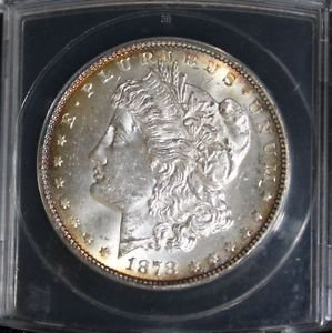 1878 7 over 8 Tail Feathers Strong VAM 37 7/4 Variety Morgan Silver Dollar