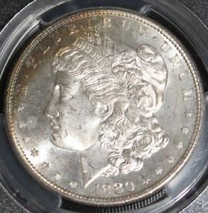 1880 S PCGS MS 66 Morgan Silver Dollar