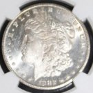 1882 CC MS 63 NGC Graded Frosted Carson City Morgan Silver Dollar