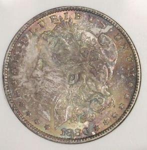 1880 O VAM 48 Hangnail MS 61 Top 100 VAM Rainbow Morgan Silver Dollar-Old VAM 1A