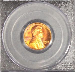 1973 S PCGS PR 68 Red Deep Cameo Proof Lincoln Memorial Cent