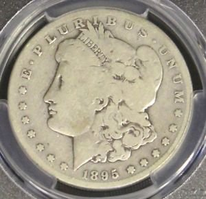 1895 S Good 6 PCGS Graded Scarce Key Date Morgan Silver Dollar
