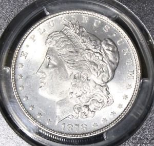 1878 7/8 TailFeather VAM 33 A Doubled Legs/Clash PCGS MS 64 Morgan Silver Dollar