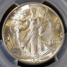1946 D PCGS MS 65 Gem Brilliant Walking Liberty Silver Half Dollar