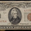 1934 A Very Fine FR 2305 Twenty Dollar Hawaii Federal Reserve Note
