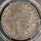 1886 O PCGS XF 40 VAM 1A Clashed E Semi Key Date Morgan Silver Dollar