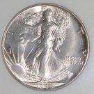 1946 S MS 65 NGC Graded Walking Liberty Silver Half Dollar