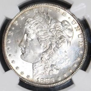 1883 CC MS 63 NGC Grade Carson City Morgan Silver Dollar