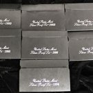 1992 to 2008 Complete Silver Proof Sets- 17 Total Sets
