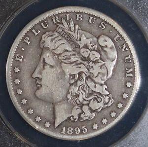 1895 O Scarce Date Very Fine  20 Morgan Silver Dollar
