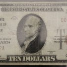 1929 Fr 1802-1 Very Fine Merchants National Bank of Mobile Ten Dollar Note