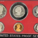 1979 S Type II Clear S Flawless Frosted Deep Mirror United States Proof Set