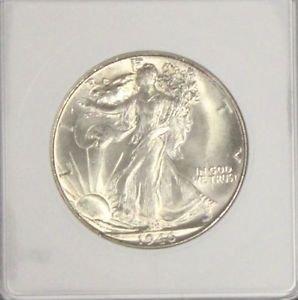 1946 S MS 65 Gem Brilliant Walking Liberty Silver Half Dollar