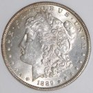 1889 MS 61 VAM 22 BAR WING Far Date Top 100 Morgan Silver Dollar