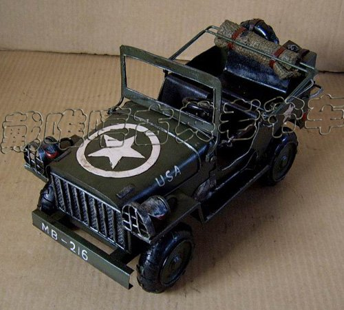Willys Jeep USA ,METAL CAR MODEL