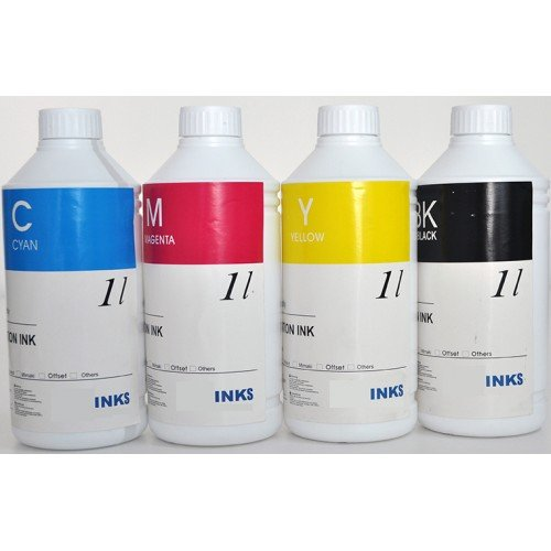 Disperse Dye Ink For Epson Printers 4 Colors 4 Liters  Premium Quality