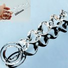 "Clear Glass Toys 7 3/4"" Dildo Spiral Shaft Female Masturbator Clitoral Massager"