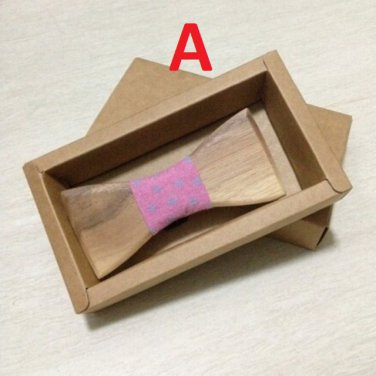 Gentleman Wooden Bow Ties Wood Bow tie Mens Handmade Accessory Christmas Gift