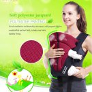 3-30 Months 3D Breathable Multifunctional Front Carry Ergonomic Baby Carrier