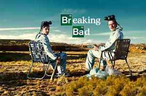 """Popular Breaking Bad Sitting Chair Printed Poster 20"""" x 30"""" Christmas Gifts"""