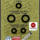 96-04 Mercedes SLK 230 Convertible Top Hydraulic Cylinder Repair Kit R170