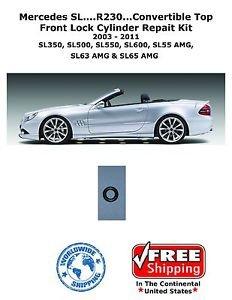03-11 Mercedes SL500 SL550 SL55 SL65 R230 Hydraulic Cylinder Roof Repair Kit