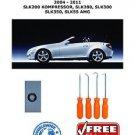 04-11 Mercedes SLK 280 350 55 AMG R171 Hydraulic Cylinder Roof Repair Kit + Pick