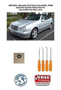 98-03 Mercedes CLK-Class Convertible Top.. Hydraulic Cylinder Repair Seal ..W208