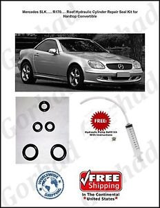 96-04 Mercedes SLK 230 Hydraulic Cylinder Repair Kit Convertible R170
