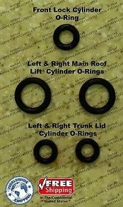 00-04 Mercedes SLK 320 SLK320 Convertible Top Hydraulic Cylinder Repair Kit R170