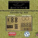 90-93 Mercedes 500SL Hydraulic Cylinder Rod & Piston Seals Convertible Top R129