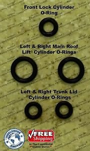 96-00 Mercedes SLK 200 SLK200 Convertible Top Hydraulic Cylinder Repair Kit R170