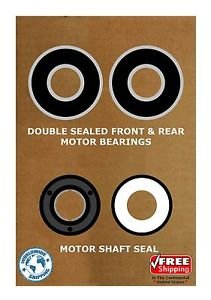 Pool & Spa Motor Bearing Kit & Shaft Seal USQ1102 USQ1152 UST1102 UST1152.K102