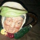 Royal Doulton Siarey Gamp toby jug