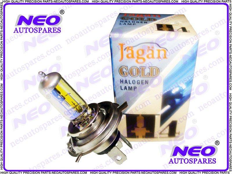 24 Volt Xenon Rainbow Headlight Bulbs New H4 100/90 Watt P43T Halogen Lamp New