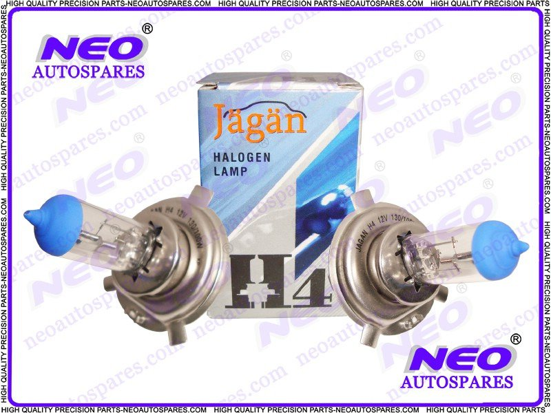 1PR H4 Globes Bulbs 12V 130/100Watt QTZ P43T Halogen Lamp @ Classic Spare Parts