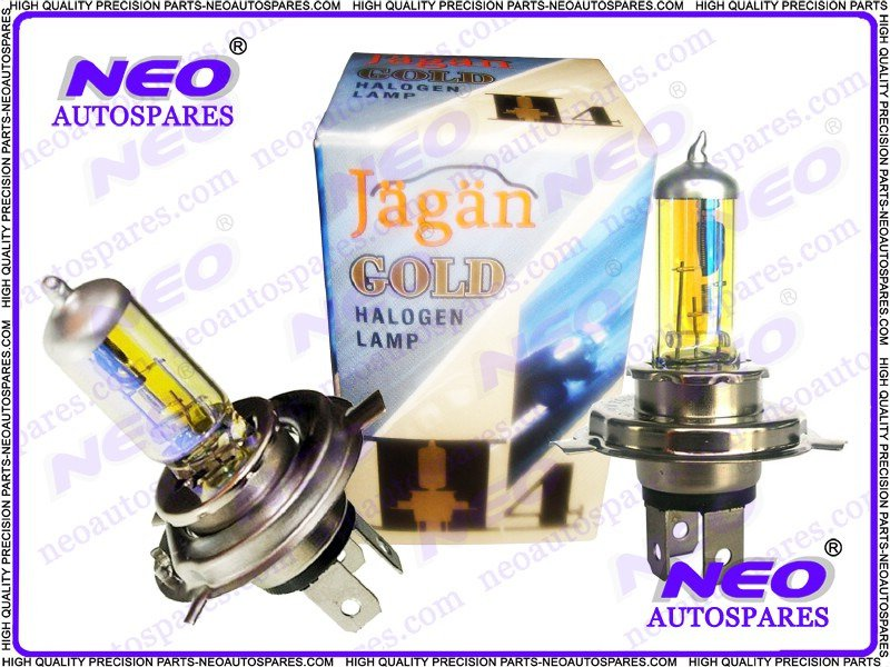 2x 24 Volt H4 Xenon Rainbow HQ Headlight Bulbs 100/90 Watt P43T Halogen Lamp