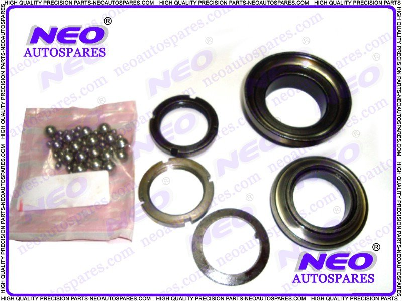 Vespa Front Fork(Top Steering) Cup/Cone Set+Ball Raiser @ Classic Spare Parts