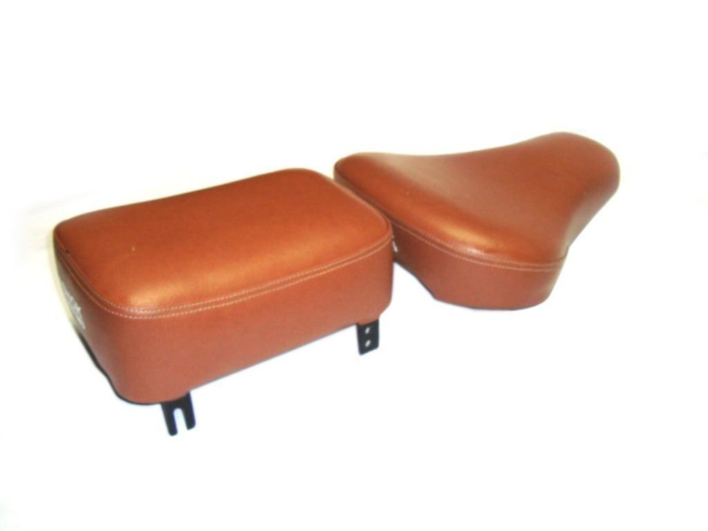 Brand New Leather Front & Pillion 13.5 To 14 Inche Fits Royal Enfield Bullet
