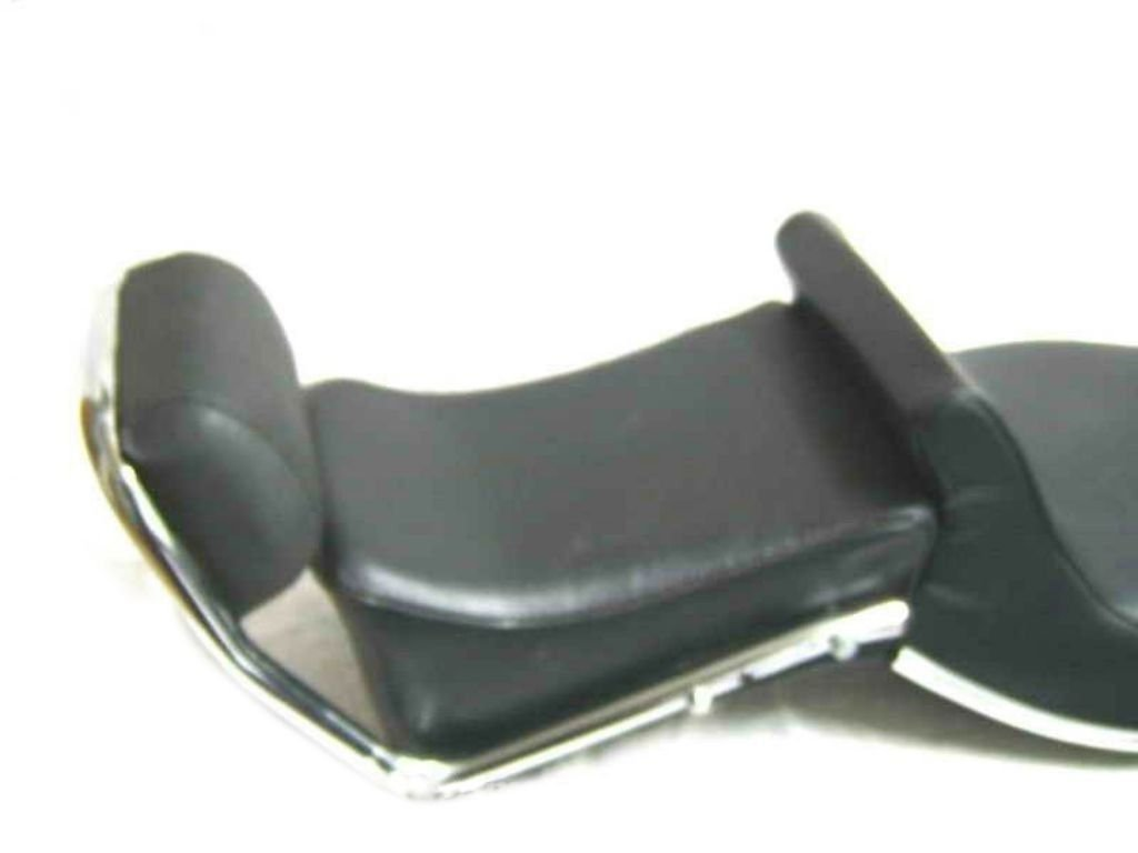 Brand New Touring Dual Seat With Backrest Black Fits Royal Enfield