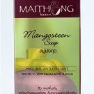 Maithong Soap Bar Face Body Herbal Asian Spa Skin Natural Acne Soup Mangosteen