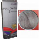 Caring Hair Colour Permanent Hair Cream Dye Elegance HD Blonde Silver Grey