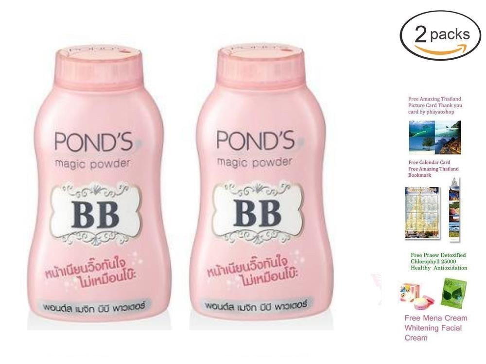 Pond's Magic Powder BB Double UV Protection : 50G Pack 2