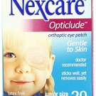 Nexcare Opticlude(Tm) Orthoptic Eyepatch, Regular-20Ct