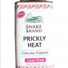 Snake Brand Prickly Heat Talc Powder - Cool Pink 100g