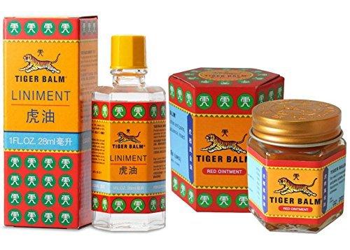Tiger Balm Liniment (Liquid) 28ml + Tiger Balm Red Ointment 30g/Jar