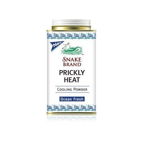 Prickly Heat Powder Snake Brand: Ocean Fresh :150G