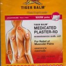 Tiger Balm Patch Plaster Warm Medicated Pain Relief 10pcs