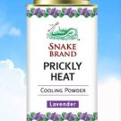 Snake Brand Prickly Heat Cooling Lavender Powder 150g.